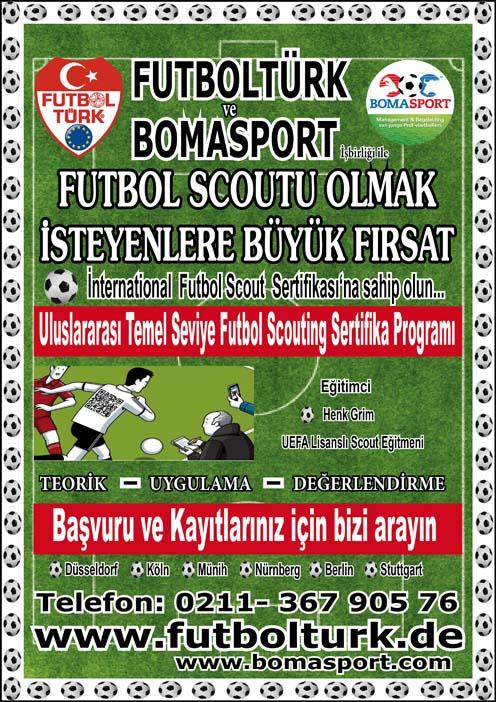 FutbolTürk Scout Eğitimi