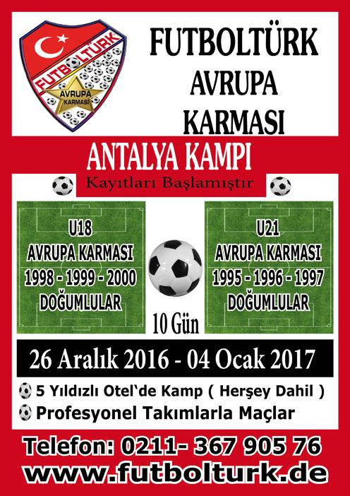FutbolTürk Antalya Kampı - 2017