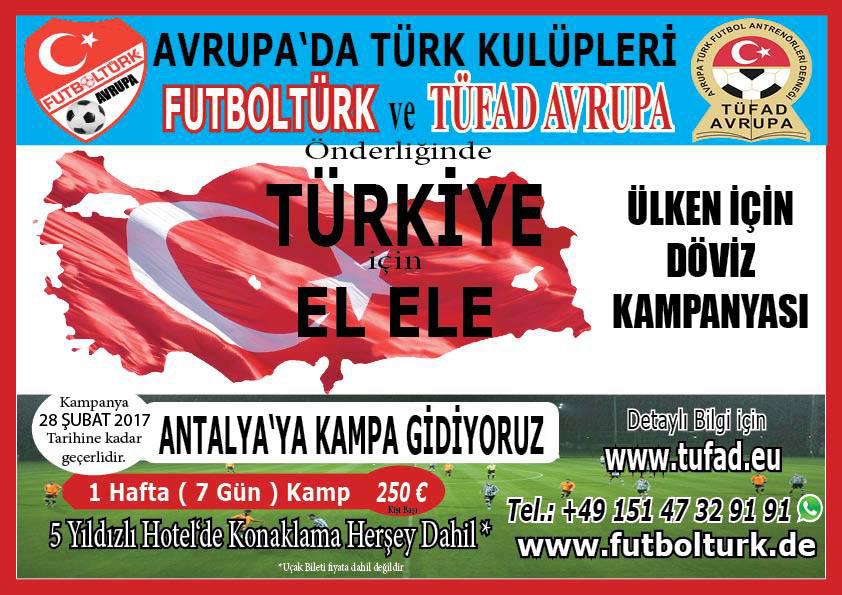 Türkiye için El ele - Ülken için Döviz Kampanyası